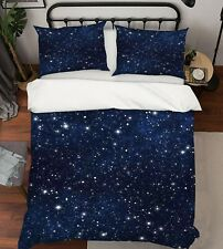 3D Night Blue Starry Sky Kep9285 Bed Pillowcases Quilt Duvet Cover Kay