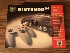 Nintendo 64 N64 Console Boxed PAL Brand New BNIB Collectors Item
