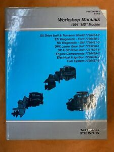 Volvo Penta 1994 MD  models service manual set part #779641