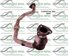 Catalytic Converter-Exact-Fit Front Left Davico Exc CA 19079