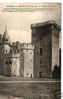 CPA 79 SAINT LOUP SUR THOUET le donjon du chateau