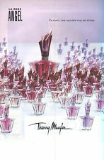 PUBLICITE  ADVERTISING 2009  THIERRY MUGLER  la Rose ANGEL                021112