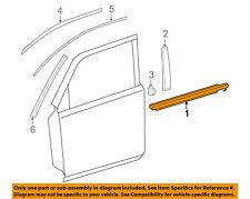 TOYOTA OEM 4Runner-Door Window Sweep-Belt Molding Weatherstrip Right 7571135011