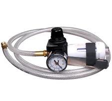 ATD Clip Air Painters Helper. Paint Gun Filter, Regulator & 6' Whip hose #7837