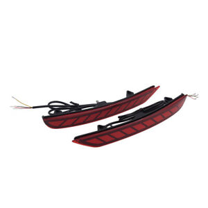 Rear Bumper Tail Light Driving Brake Signal Lamp Fit For Subaru Forester 2008-18