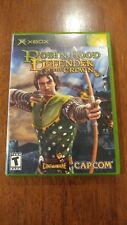 Robin Hood: Defender of the Crown (Microsoft Xbox 2003) MINT COMPLETE MAIL TOMOR