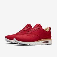 Nike Air Max 1 Royal Gym Red Summit White Men 847671 661 Mens New
