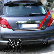 Striscia cromata portellone SPECIFICA Peugeot 207 Cromatura Baule Profilo