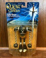 "Spike Slinger Vintage Quest For Camelot 6"" Action Figure 1997 Hasbro 90s Movie"