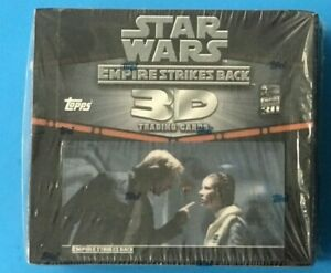 STAR WARS TOPPS EMPIRE STRIKES BACK 3D WIDEVISION SEALED BOX C