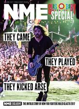 FOO FIGHTERS EXCLUSIVE GLASTONBURY SPECIAL NME 30 JUNE 2017