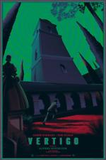 Vertigo Poster Screen Print Laurent Durieux Mondo Hitchcock Movie Variant Ed.