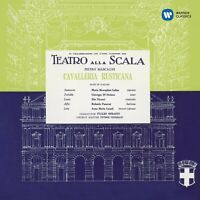 CALLAS/STEFANO/OTSM/SERAFIN - CAVALLERIA RUSTICANA (REMASTERED 2014)  CD NEUF