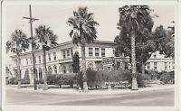 California Ca Real Photo RPPC Postcard c1940s PITTSBURG Hotel Los Medanos