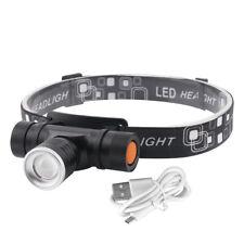 30W XM-L2 LED USB Stirnlampe Kopf lampe Laufen Jadg Taschenlampe Arbeitslampe