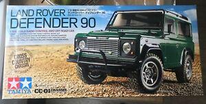TAMIYA RC 58657 Land Rover Defender 90 - CC01 1:10 Assembly Kit