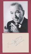 Noel Coward  Autograph , Original Hand Signed Card