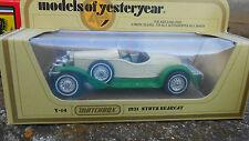 STUTZ BEARCAT 1931 - REF.Y-14  - MATCHBOX - SCALA 1/46