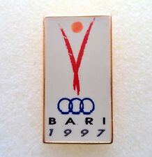 Mediterranean Games Bari 1997. Rare Pin, Badge
