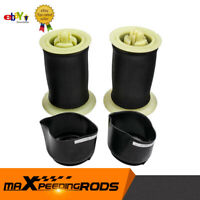 2x rear Left Right Air Suspension Spring Bags for BMW 5 Series GT F07 F10 F11