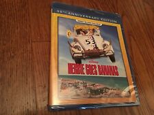 Disney Herbie Goes Bananas 35th Anniversary Edition Blu-Ray New Sealed+Fast Ship