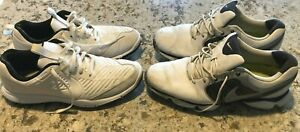 FREE SHIPPING! - Two (2) pair NIKE Golf Shoes - Men's size 9 - see description!