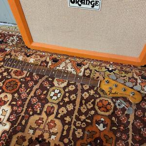 Vintage 1970 - 1975 Fender Precision USA Rosewood Bass Guitar Neck Spare Parts