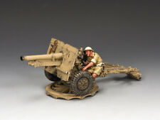 King & Country EA007 25 Pdr Field Gun BR   Collectors Showcase PH4