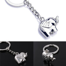 Vintage Funny Elephant Gold Keychain Keyring Key Charm Keyfob Gift Souvenir li