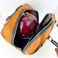 Vintage Columbia u300 Bowling Ball - w/ vintage AMF bag 15 Pound Ball