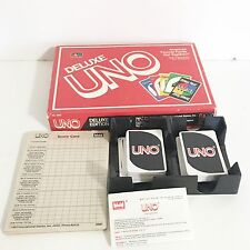 Vintage Deluxe Edition Uno 1986 International Games Complete