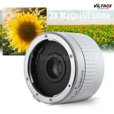 Viltrox AF Auto Focus 2X Teleconverter Lens Adapter Ring Extender Tube for Canon