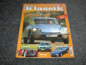 Motor Klassik Zeitschrift Heft 6/1999 Citroen DS