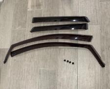 WeatherTech Side Window Deflectors for Ford Edge 2015-2019 Full Set
