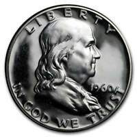 1960 Franklin Half Dollar Choice Proof