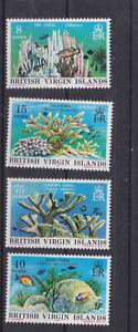 virgin islands 1978 Sc 333/6 coral.set        q273