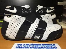 Nike Lebron James Zoom 20-5-5 White Black 311145 111 Basketball Shoes Size 10