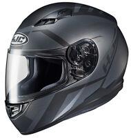 HJC Adult CS-R3 Faren DOT Motorcycle Helmet Black MC-5SF All Sizes