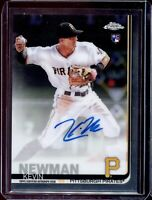 KEVIN NEWMAN ⚾️ 2019 Topps Chrome Baseball ⚾️ Chrome Rookie Autograph - PIRATES