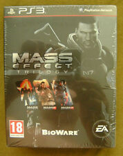 Mass Effect Trilogy: Pack Version 100% Française Full Fr_Jeux PS3_Neuf_Rare.