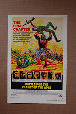 Battle for the Planet of the Apes #1 Lobby Card Movie Poster
