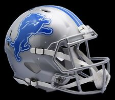 Detroit Lions Riddell Professional NFL Football Team Speed Mini Helmet NEW 2017