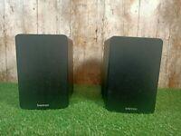 Brennan BSP 50 Bookshelf Black 2 Speakers50 Watts 8 ohms 22cm x 14.5cm x 19