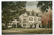 Anson Phelps Stokes Residence Home Ridgefield Connecticut postcard