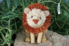 CRATE & BARREL BURI LION ORNAMENT – NWT – CREATE A LITTLE HOLIDAY UPROAR!