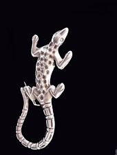 VINTAGE STERLING SILVER MEXICO LIZARD PIN