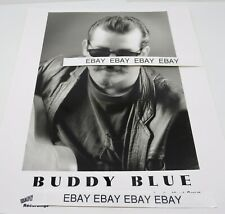 Buddy Blue Rockabilly Swing Hootenanny Recordings B & W Promotional Picture