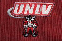 VINTAGE Starter 1980's Embroidered UNLV Rebels POLO SHIRT 2XL XXL