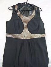 City Chic S 16 Maxi Night Queen Black Dress
