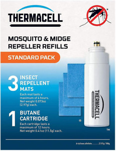Thermacell Standard Refill Pack (Mats and Gas) - Multi